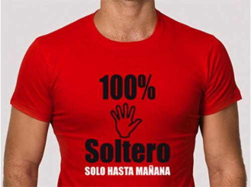 camiseta hasta mañana para despedidas de soltero