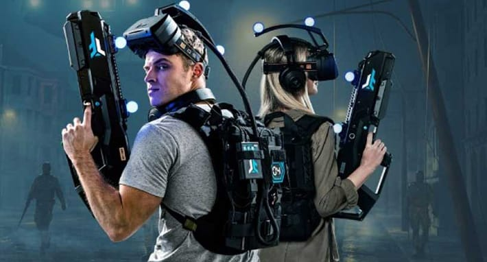 experiencia de realidad virtual en Madrid