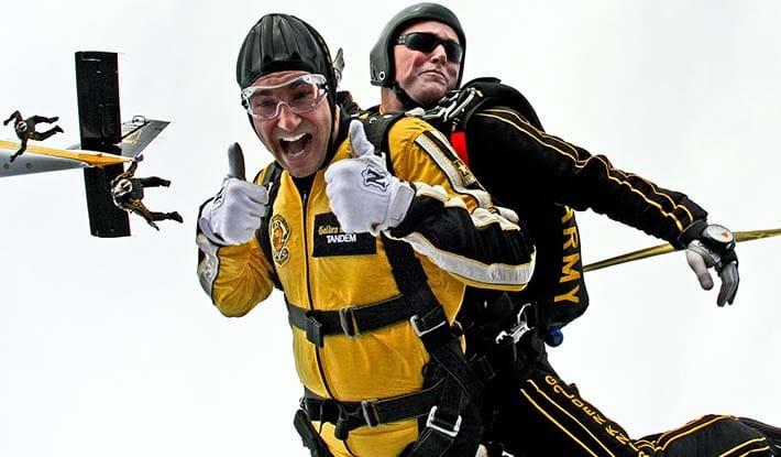 saltar en paracaídas en Madrid